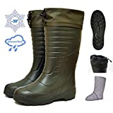 DD-Tackle Eva Thermostiefel -30°C + Filz Innenschuh Jagd Angel Angler Thermo Winter Stiefel Anglerstiefel Angelstiefel Jagdstiefel