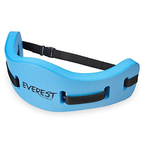 EVEREST FITNESS Aqua-Jogging-Gürtel für Wassersport und Schwimm-Training, sichere Schwimm-Hilfe bis 100 kg Körpergewicht, universell verstellbar | 2 Jahre Zufriedenheitsgarantie
