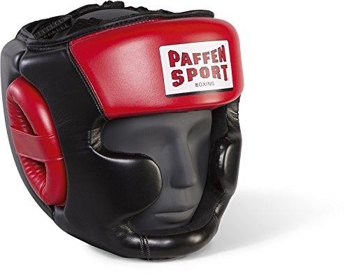Paffen Sport Allround Eco Kopfschutz für Das Training; Schwarz/Rot; GR: M/L