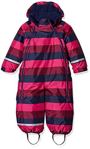 CareTec Baby Schneeanzug (verschiedene Farben), Mehrfarbig (Amaranth 6460), 98