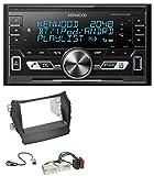 caraudio24 Kenwood DPX-M3100BT 2DIN AUX MP3 Bluetooth USB Autoradio für Hyundai Santa Fe ab 12 ohne Navi