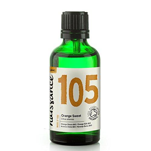 Naissance Orangenöl, süß 50ml BIO zertifiziert 100% naturreines ätherisches Öl