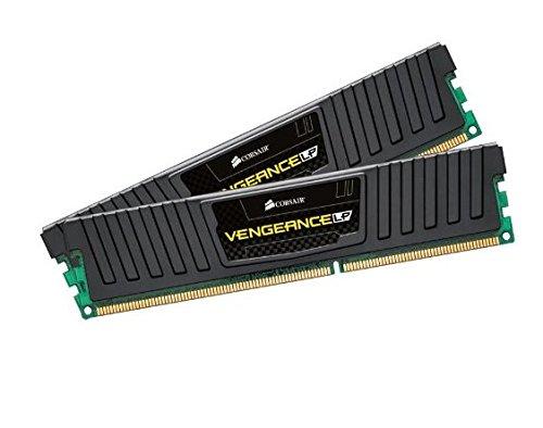 Corsair CML16GX3M2A1600C9 Vengeance Low Profile 16GB (2x8GB) DDR3 1600 Mhz CL 9 XMP Performance Desktop Memory Schwarz