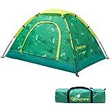 KingCamp Campingzelt Kinderzelt Spielzelt für 2 Personen, Indoor Outdoor, Grün