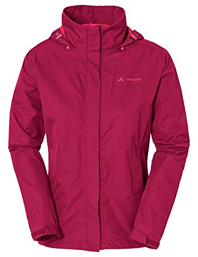 Vaude Damen Escape Light Jacket Jacke, Crimson Red, 40