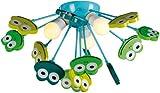 Naeve Leuchten Kinder Deckenleuchte 'Frosch' 1077661