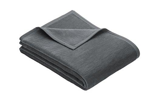 Kuschelweiche Uni Decke Messina Farbe 816 dunkelgrau, Größe: 150x200cm, in vielen verschiedenen Farben und Größen erhältlich. Überzeugen Sie sich selbst, hineingreifen und begeistert sein!