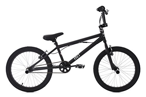KS Cycling Bmx Freestyle Zoll Fatt Fahrrad, Schwarz, 20