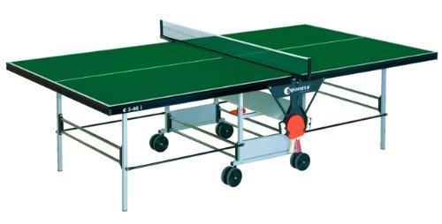Indoor TT-Tisch Tischtennisplatte Farbe: grün sponeta S 3-46 i ausschlieá...