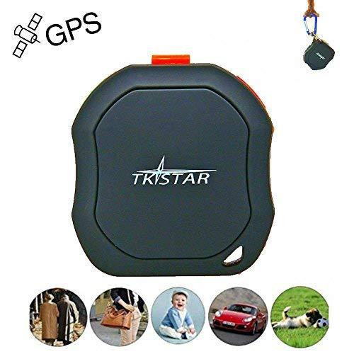 Mini GPS Tracker, TKSTAR Tragbare GPS Tracker Haustiere Hund Katze Fahrzeuge kinder ältere mini GPS Outdoor Navigation SOS Wasserdicht GPS Ortung mit kostenloser APP TK1000