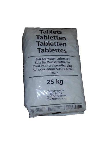 Regenit Salztabletten - zur Regenerierung von Wasserenthärtungsanlagen - 25 kg - 1 Sack