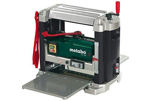Metabo Dickenhobel DH 330, leistungsstarke Hobelmaschine für den mobilen Einsatz, leistungsstarker Universalmotor mit 1800 W, Art.-Nr. 0200033000
