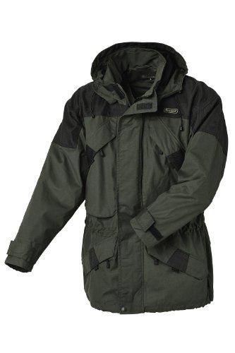 Pinewood Unisex Funktionsjacke Lappland Extrem, dunkelgrün/schwarz, XXL, 9093