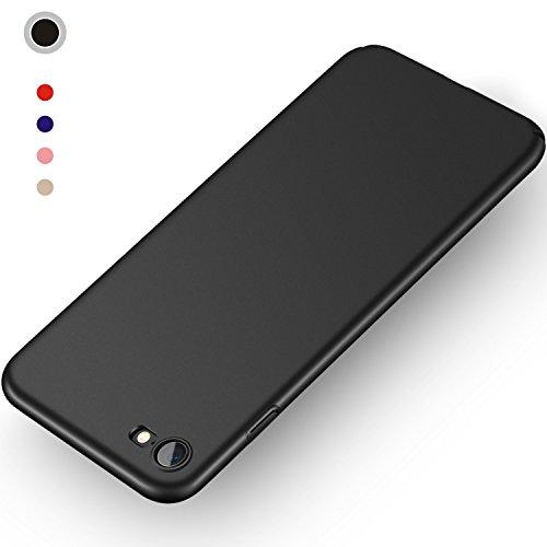 HüllefüriPhone7/iPhone8,Aollop Ultra Dünn Stoßdämpfend,Staubschutz,Anti-Kratz Schutzhülle,FederleichtHülleBumperCoverSchutztascheSchaleCasefüriPhone7/iPhone8(4.7 Zoll-Schwarz)