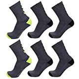hummel 6 Paar Damen und Herren Socken Fundamental 6er Pack Sock schwarz/weiß Logo viele Größen