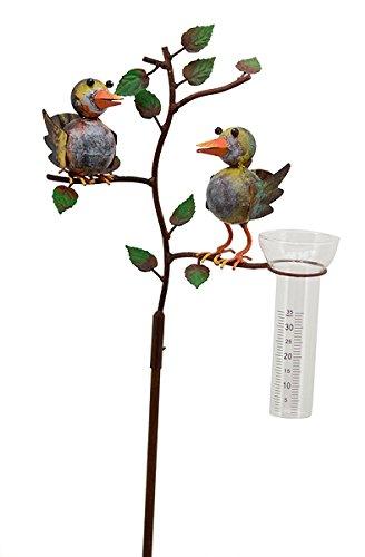 Regenmesser Vögel ArtFerro 132 cm