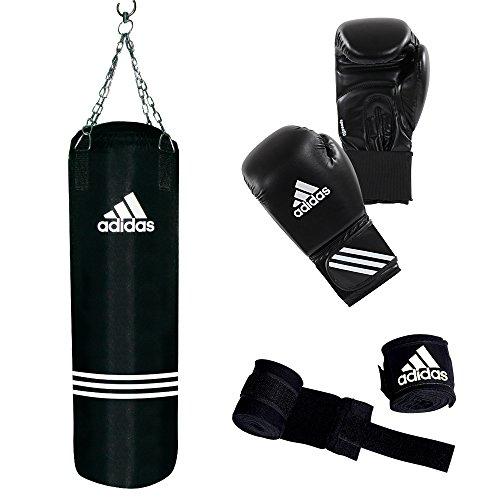 adidas Boxing Set Performance, Schwarz, ADIBAC11KIT