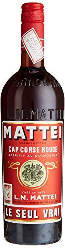 L.N. Mattei Cap Corse Rouge Aperitif au Quinquina LE SEUL VRAI (1 x 0.75 l)