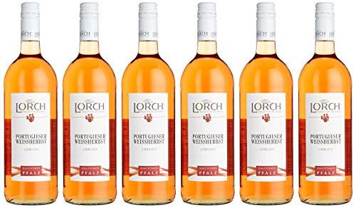 Lorch Portugieser Weißherbst Lieblich (6 x 1.0 l)