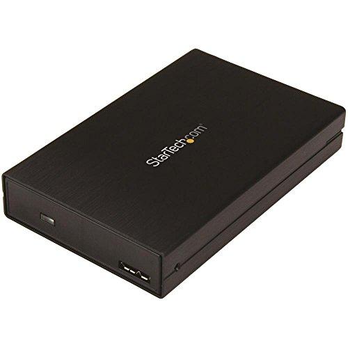 StarTech.com Laufwerksgehäuse für 2,5' SATA SSDs/HDDs - USB 3.1 (10Gbit/s) - USB-A, USB-C - für 5mm bis 15mm hohe Festplatten