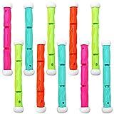 Bramble 10 Pack Unterwasser Pool Diving Sticks, Tauchstäbe, Tauchsticks Kinder Tauchspielzueg für Poolpartyspiele, Sommerspaß, Wasserspielzeug.