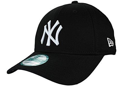 New Era 9Forty Adjustable Baseball Cap League Basic New York Yankees in black/white