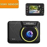 mibao Dashcam Auto Camera FHD 1080P Autokamera Mini Dash Cam Kfz-Kamera mit 170° Weitwinkelobjektiv, Loop-Aufnahme, G-Sense, Parkmonitor, WDR, 6G Lens, Bewegungserkennung