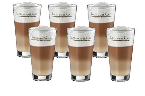 Würtembergische Metallwarenfabrik WMF Latte Macchiato Gläser Eiskaffeegläser 6 er Set