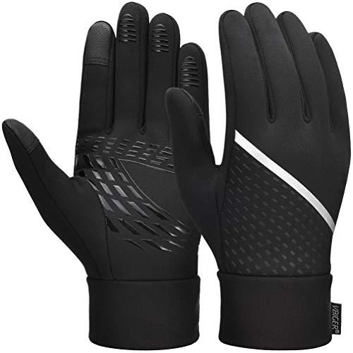 VBIGER Winterhandschuhe herren Touchscreen Handschuhe Warme Handschuhe Sporthandschuhe Fahrradhandschuhe Laufhandschuhe für Damen und Herren Schwarz