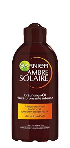 Garnier Ambre Solaire Delial Tiefbraun Bräunungsöl, 1er Pack (1 x 200 ml)