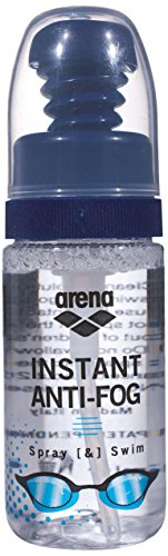 Arena Erwachsene für Schwimmbrillen Anti-Fog-Spray, Transparent, 6,5x15 cm