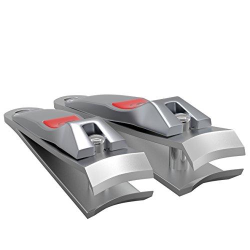 MRP Nagelknipser - Nagelknipser Set für Finger - und Fußnägel - Edelstahl - 100%ige Zufriedenheitsgarantie - Nagelzange - Nagelzwicker - Nagelschneider - Nail Clipper - (Finger- und Fußnägel)