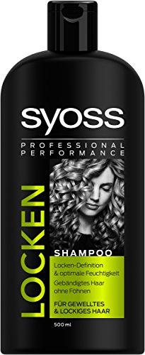 Syoss Locken Shampoo, 2er Pack (2 x 500 ml)
