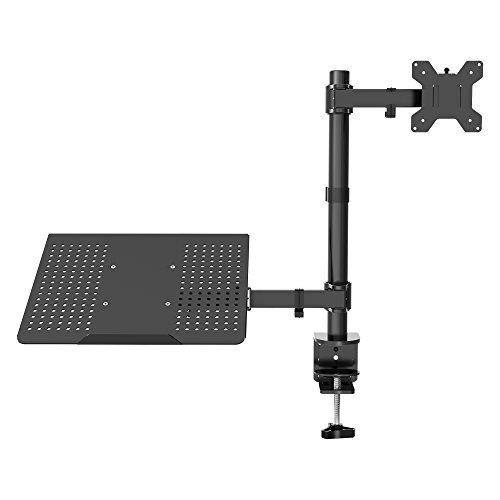 """1home Laptop Notebook Tablet Tisch Ständer Monitor Arm Arme Halterung Tischhalterung Halter völlig verstellbar schwenkbar 13""""-27"""""""