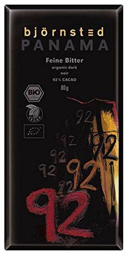 Björnsted Bio Feine Bitter 92% Großtafel PANAMA - Bremer Gewürzhandel