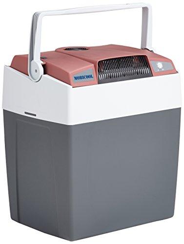 MOBICOOL G30 AC/DC - elektrische Kühlbox mit USB-Anschluss zum Laden von Handys, anschlussfertig für 12 und 230 Volt, Fassungsvermögen 29 Liter, Mini-Kühlschrank für Auto und Steckdose, A+++