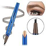Augenbrauenstift Wasserfest Augenbrauenstift Tattoo Augenbrauenstift Definieren Sie einen hochnatürlichen Make-up-Bobble Flow(Kastanienfarben)