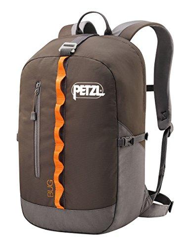Petzl Erwachsene Rucksack Bug, grey, 32 x 21 x 1 cm, 18 Liter, S71 G