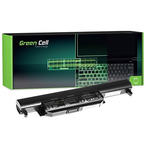 Green Cell Standard Serie A32-K55 Laptop Akku für Asus F55 F55A F55C F75 F75A F75V F75VB F75VC F75VD R704 R704A R704V R704VB R704VC R704VD (6 Zellen 4400mAh 10.8V Schwarz)