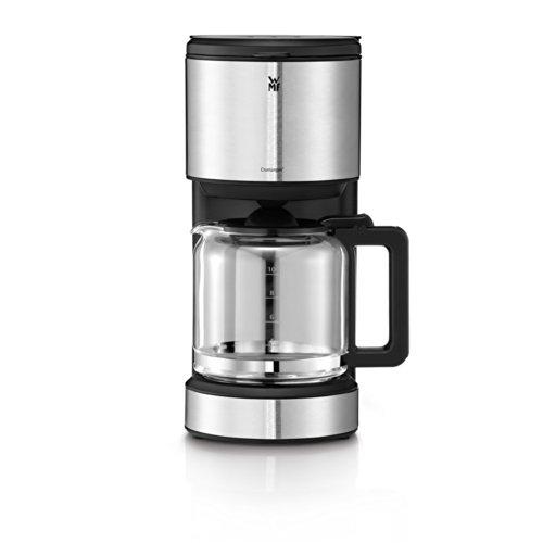 WMF Stelio Aroma Filterkaffeemaschine Glaskanne, 1000 W, 8 Tassen Tropfstop, Warmhalteplatte, Abschaltautomatik