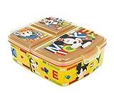 Theonoi Kinder Brotdose / Lunchbox / Sandwichbox wählbar: Frozen PJ Masks Spiderman Avengers - Mickey - Paw aus Kunststoff BPA frei - tolles Geschenk für Kinder (Mickey Mouse)