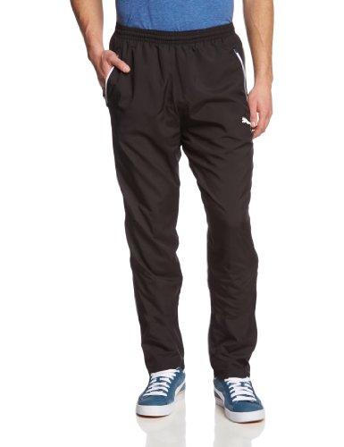 Puma Herren Hose Leisure Pants Black-White, L