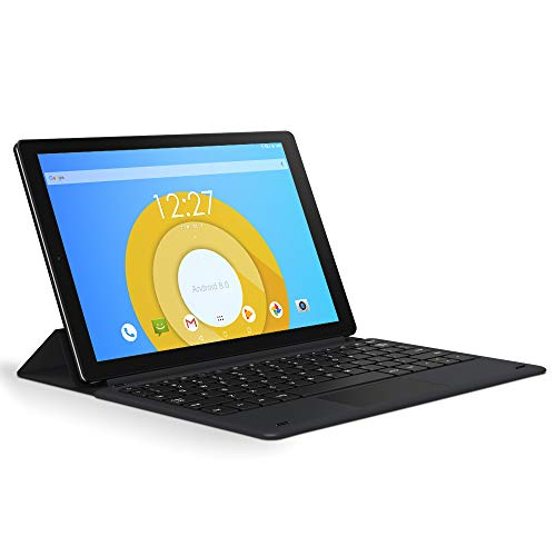CHUWI HiPad LTE Tablet PC Tableta 2 in 1 de 10.1 Bildschirm 4G LTE Android 8.0 Oreo (MT6797 X27) Mit 2.6 GHz 1920x1200 IPS 3 GB RAM 32 GB ROM 7000mAh, WIFI, Bluetooth, SIM-Karte, Teclado