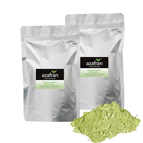 BIO Weizengras Pulver aus Deutschland oder Österreich 1kg von Azafran