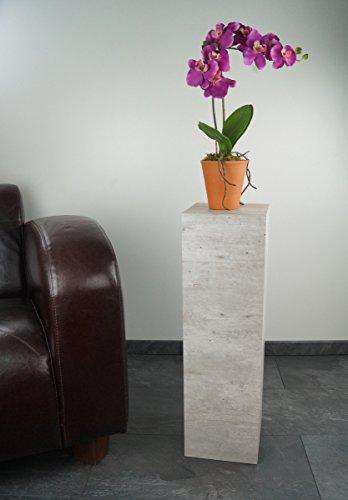 freeroom24 Blumensäule, Säule, Dekosäule Elias in Beton-Optik, H.70cm