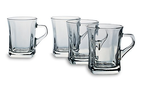 Bohemia Cristal 093 006 141 Glühweinbecher ca. 240 ml aus Kalk-Natron-Glas 4er Set 'Wintertime'