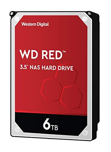 WD Red 6TB SATA 6Gb/s 256MB Cache Internal 8,9cm 3,5Zoll 24x7 IntelliPower Optimized for SOHO NAS Systems 1-8 Bay HDD Bulk