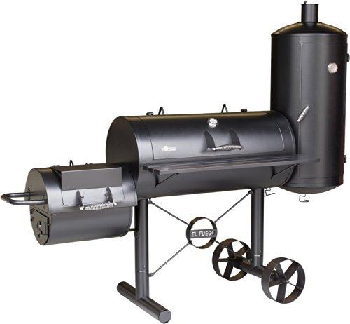 Smoker-Grill 'Kiona' von El Fuego Holzkohlegrill BBQ Barbecue Grill Smoker (000312)