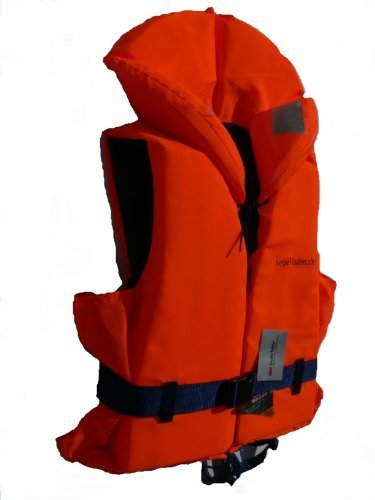Rettungsweste für Körpergewicht 70-90 kg mit Beleuchtung