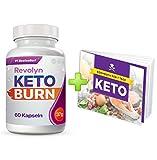 Revolyn Keto Burn - Diätpille für effektiven Gewichtsverlust | Gratis dazu unser 7-Tage-Keto-Kochbuch(1 Flasche)